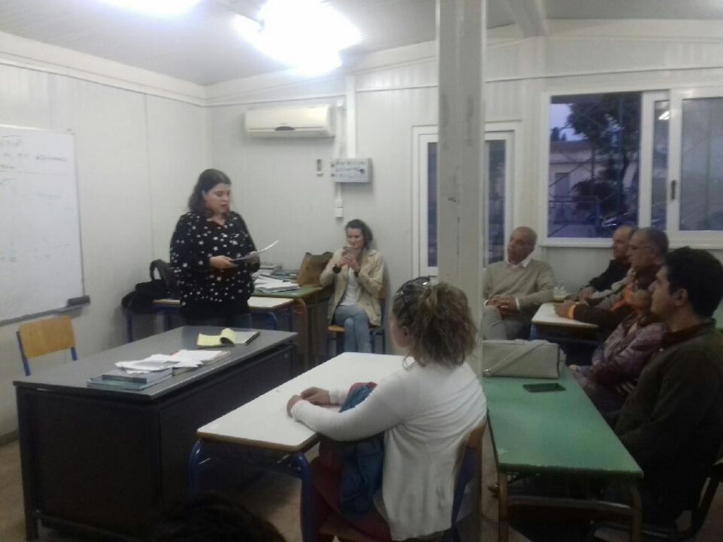 ομιλια βιργινιας γεραζουνη στο νυχτερινο σχολειο χιου 2